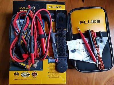 Fluke 87V Kit Digital Multimeter With Leads, Hanger & Carrying Case. Mfg In 2017