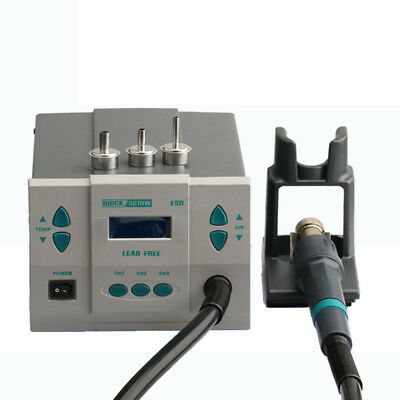 1000W Quick 861DW Heat Gun Digital Rework Station Hot Air Desoldering Lead-free