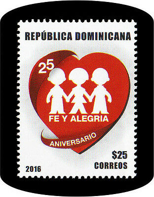 Dominican 25th Anniversary Foundation Faith and Joy Movement MNH 2017 NEW