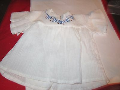 NEW American Girl Doll Julie Classic Original Meet Outfit -WHITE TOP- ONLY NEW