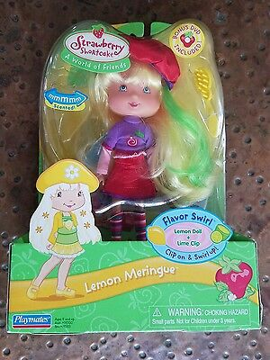 Nib Playmates Strawberry Shortcake Lemon Meringue Flavor Swirl Doll
