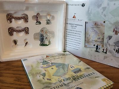 Dept 56 - Seasons Bay - The Perfect Wedding Gift Set