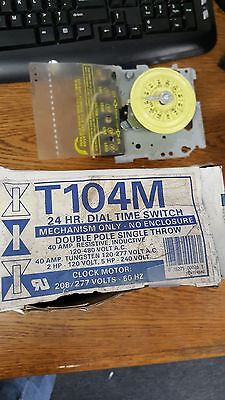 Intermatic T104M 24 Hr. Dial Time Switch Industrial Grade, New Surplus in box