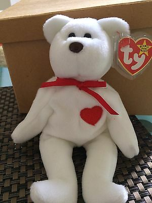 TY 1st Gen Valentino Bear Mint and Rare