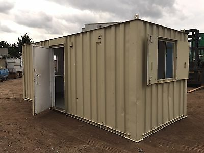 Portable Site Office Canteen Anti Vandal Steel 20ft by 8ft (More Available)