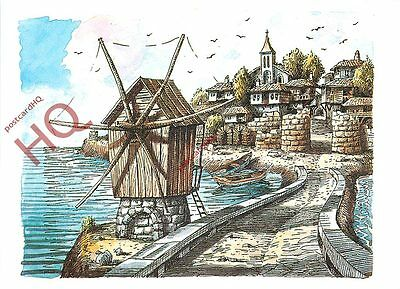 Postcard, Nessebar, The Ancient Town