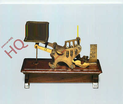 Postcard, National Postal Museum, Weight Collecting Postal Scale
