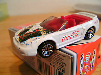 Matchbox Coca Cola. Ford Mustang 1999