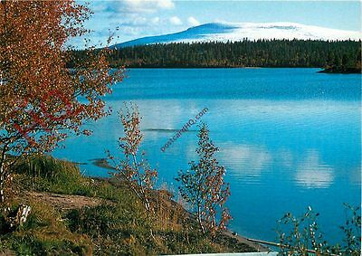 Postcard: Lapland, First Snow On The Fells