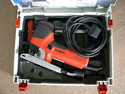 Mafell Max Power Jigsaw P1cc UK Plug with Classic Systainer + Shown Accessories
