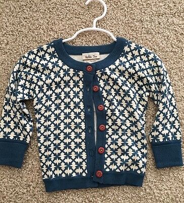 Euc Girls Baby Matilda Jane Windy City Cardigan Size 12 Month