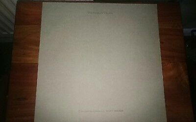 SCOTT WALKER fire escape in the sky - UK LP ZOO 1981 rare vinyl Julian cope.