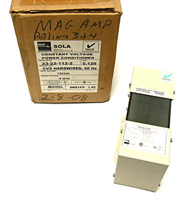 New Sola 23-22-112-2 Power Conditioner