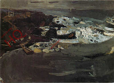 Postcard-:Joan Eardley, Winter Sea
