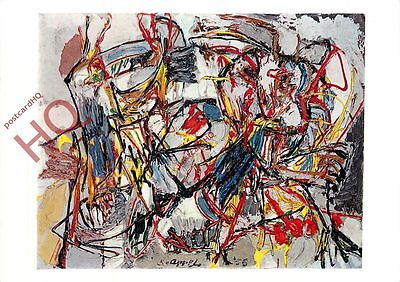 Postcard-:Karel Appel, Amorous Dance