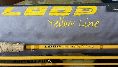 LOOP 9ft 5wt Yellow Line 590-3 Free Shipping