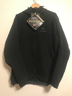 Mens Black Arc'teryx Alpha SV Goretex Jacket Size Extra Large XL