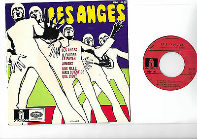 LES ANGES top French BEAT PEELLAERT French EP -  More great 45s in my shop !