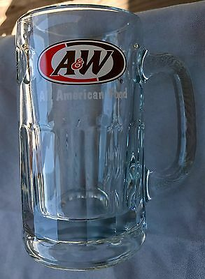 Vintage A&w Root Beer Mug Large Heavy Over 2 Pounds Vintage A&w