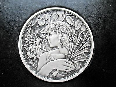 Royal Mint St George and the Dragon Masterpiece series Silver Medal