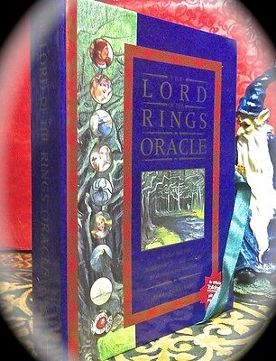 Lord Of The Rings Oracle  Tarot-Like Tolkien Fantasy Divination Set Occult Magic