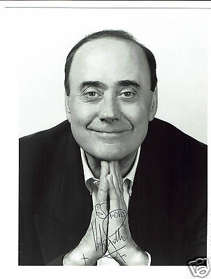 Victor Spinetti Actor Help  Hand  Signed Photograph 10 x 8 and card 6 x 4