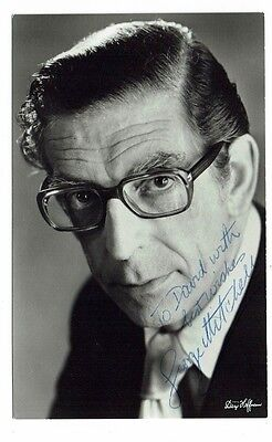 George Mitchell  Musician BBC Variety Act  Hand Signed vintage photograph 5 x 3