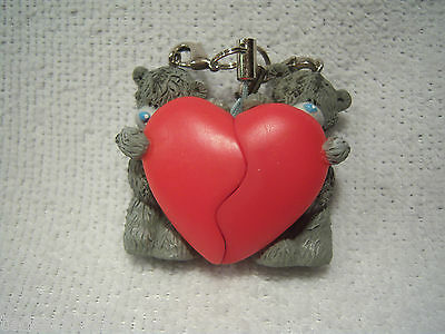 Me To You -  2 Piece  ' Heart '  Phone / Bag Charm   -  Brand New