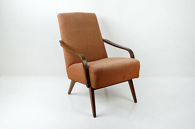 1 of 2 Vintage Retro MidCentury Danish Style Chair Armchair