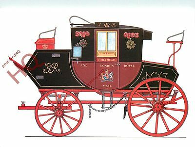 Postcard; National Postal Museum, 1815 Royal Mail Coach