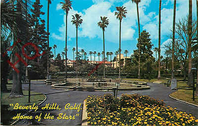 Postcard; Beverly Hills, Will Rogers State Park