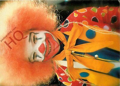 Postcard; Clown On The Carnival Of Maastricht