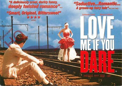 Postcard--Love Me If You Dare, Advertising