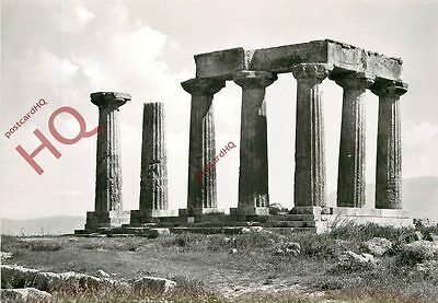 Postcard--Corinth, The Apollo Temple