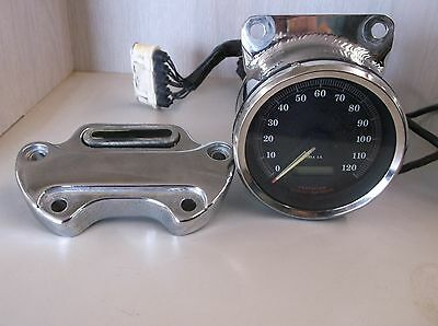 Harley Davidson XL1200 Sportster Speedometer With Riser Used