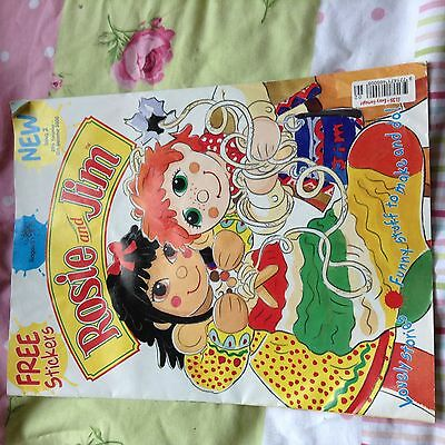 Vintage retro old rosie and jim cartoon comic book lovely condition