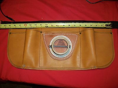 LEATHER SAMPO INC.BIG GAME FISH FIGHTING BELT/HARNESS w/Pockets New Open Package