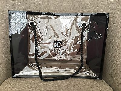 Chanel VIP Gift Tote Bag Cosmetic Beach Bag Large 170612-3 Brand New