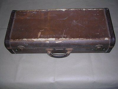 Vintage Hard Shell Carrying Case by Pan American. For Alto Sax. SAX NOT INCLUDED