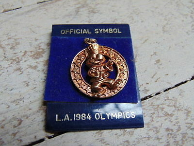Original 1984 Los Angeles Olympics Olympic Games Necklace Pendant