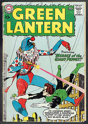 GREEN LANTERN  1  F/1.5  -  1st issue of 2nd series from 1960!