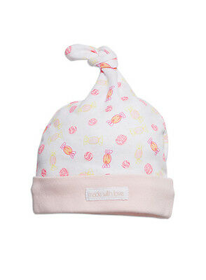 Pumpkin Patch Baby Girls Knot Hat - Iced Blossom