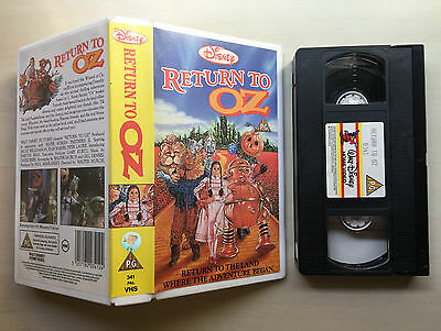 Disney - Return To Oz - Vhs Video