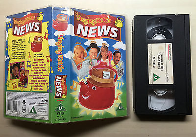 The Singing Kettle - Daily News - Vhs Video