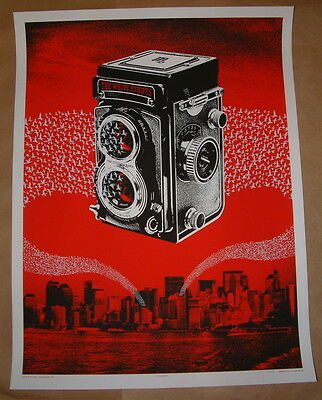 The White Stripes Rob Jones New York Fillmore Irving Plaza Concert Poster Print