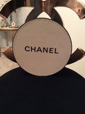 made for Chanel Store display round vtg box sign handbag bottle dummy factice