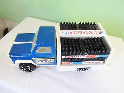 Vintage Tonka Pepsi Delivery Truck, Complete With Bottles & Crates
