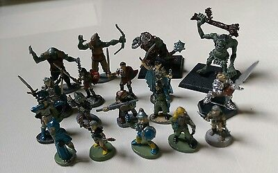 TSR Advanced Dungeons and Dragons Lot of 18 Vintage 1980's Action Figures