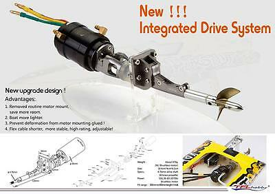 Integrated Drive System 4.76mm Shaft(Without Motor)