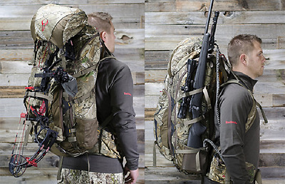 Badlands Summit Realtree XL Hunting Rifle Hiking Camping Bag Camo Backpack Bow